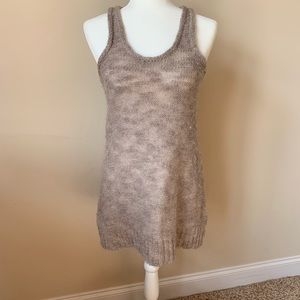 Free People sweater tank tunic with sequins #157